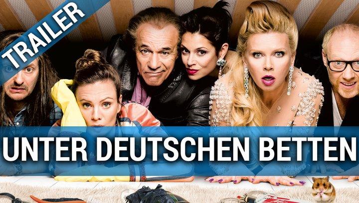 Unter deutschen Betten - Trailer Poster
