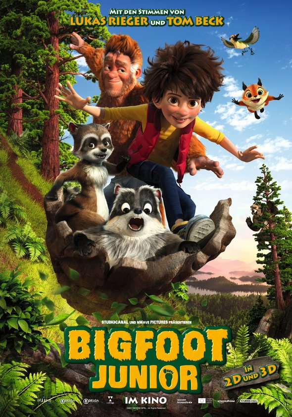 Plakat: BIGFOOT JUNIOR