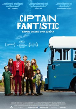 Captain Fantastic - Einmal Wildnis und zurück Poster