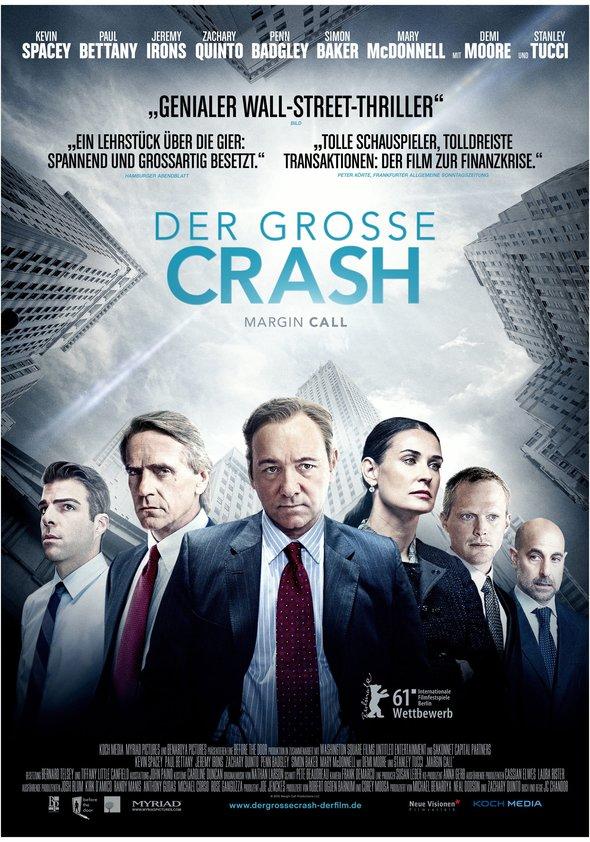 Der große Crash - Margin Call Poster