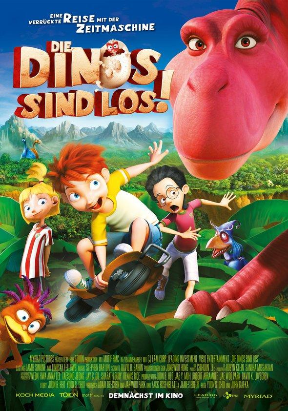 Die Dinos sind los! Poster