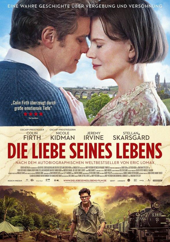 Die Liebe seines Lebens - The Railway Man Poster