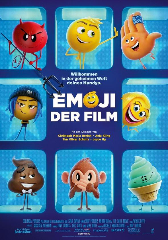 Plakat: EMOJI - Dder Film