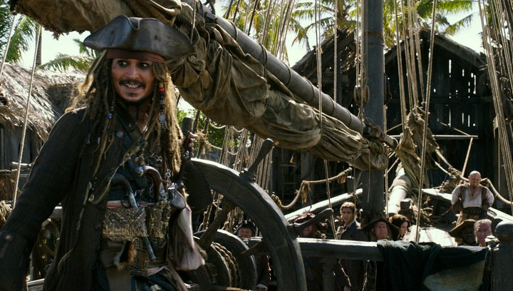 Pirates of the Caribbean: Dead Men Tell No Tales - Teaser-Trailer Deutsch Poster