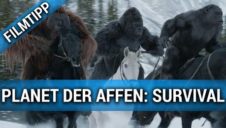 Planet der Affen - Survival - Trailer 3 Poster
