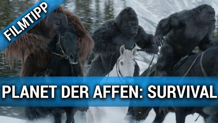 Planet der Affen Survival - Filmtipp Poster