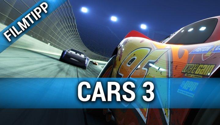 Cars 3 - Filmtipp Poster