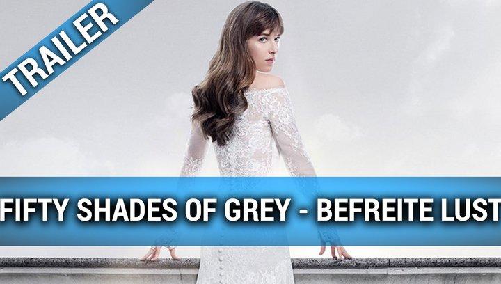 Fifty Shades of Grey - Befreite Lust - Trailer #1 OV (Englisch) Poster