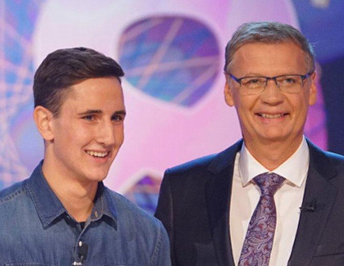 """""""Wer wird Millionär?"""": 18-jähriger Kandidat hadert mit einfacher Filmfrage"""