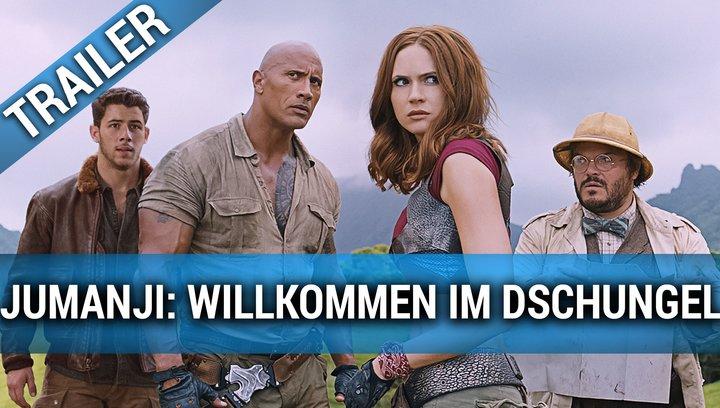 Jumanji: Willkommen im Dschungel - Trailer #2 2017 Deutsch Poster