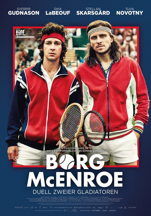 Borg/McEnroe - Duell zweier Gladiatoren Poster