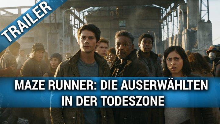 Maze Runner - Die Auserwählten in der Todeszone - Trailer 2 Poster