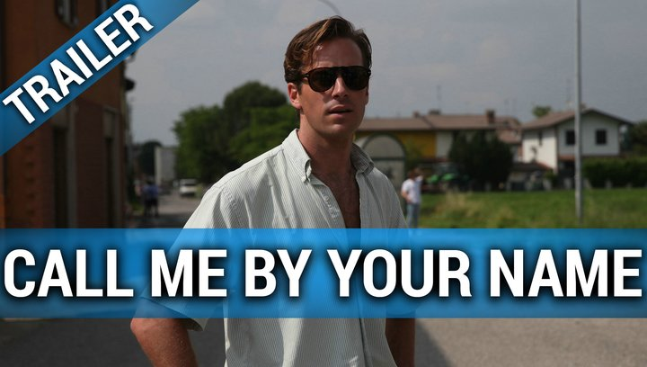 Call Me By Your Name - Trailer Poster