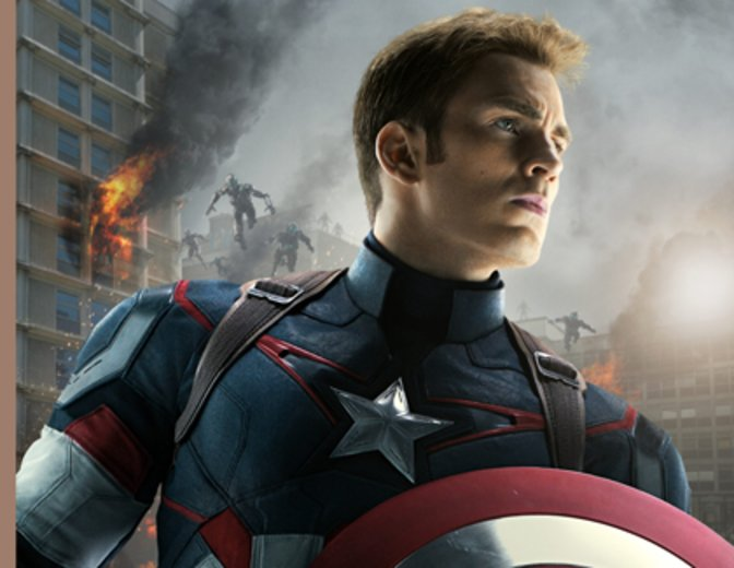 Chris Evans Captain America Avengers 2 Age of Ultron