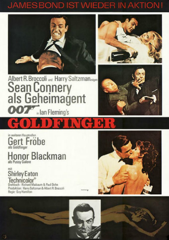 Goldfinger © United Artists
