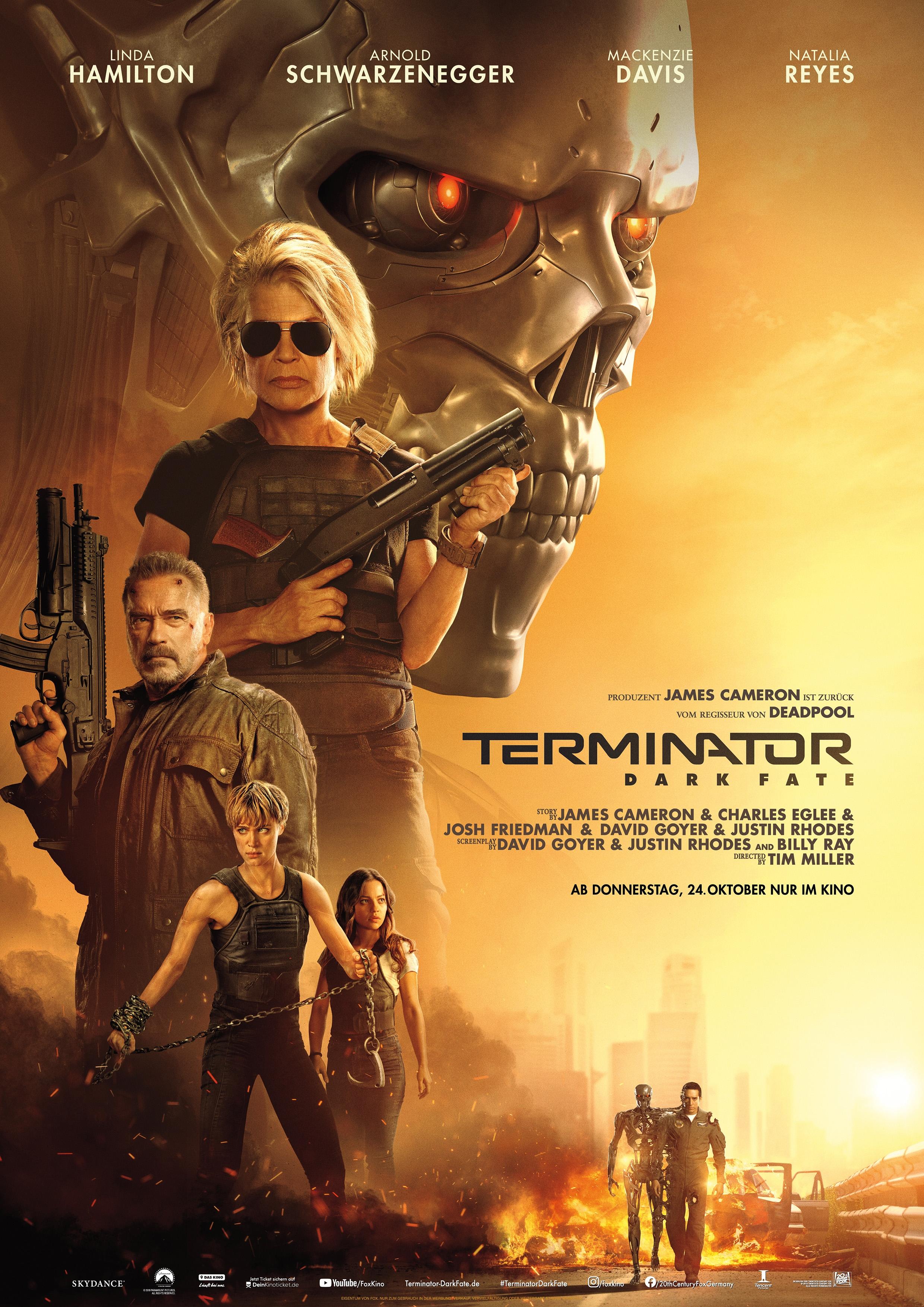 Terminator 6: Dark Fate Film (2019) · Trailer · Kritik · KINO.de