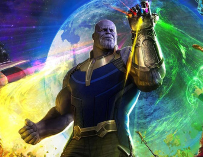 Thanos Avengers 3 Infinity War