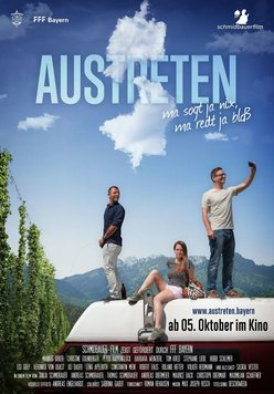 Austreten Poster