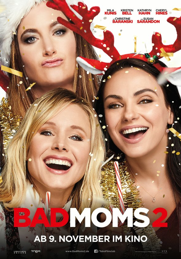 Plakat: BAD MOMS 2