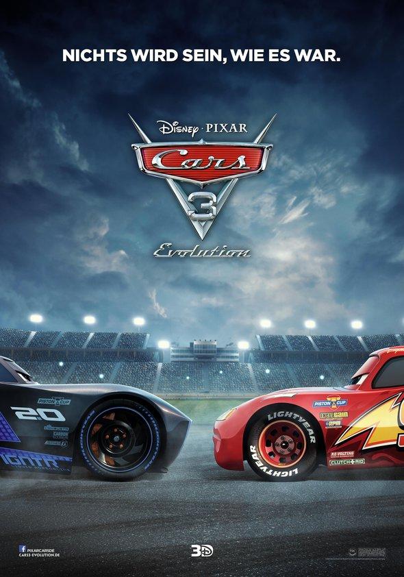 Cars 3: Evolution Poster