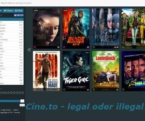 Cine.to – Neue Kinofilme kostenlos online streamen: Legal oder illegal?