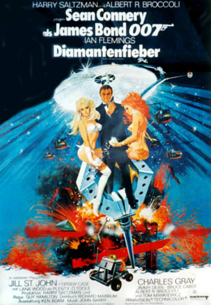 Diamantenfieber © United Artists