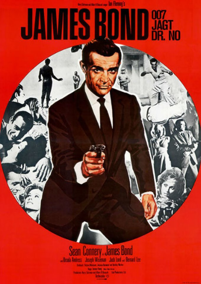 James Bond 007 jagt Dr. No © United Artists