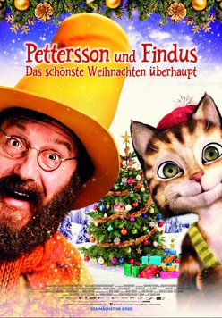 Pettersson und Findus: Das schönste Weihnachten überhaupt Poster