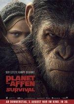 Planet der Affen: Survival Poster