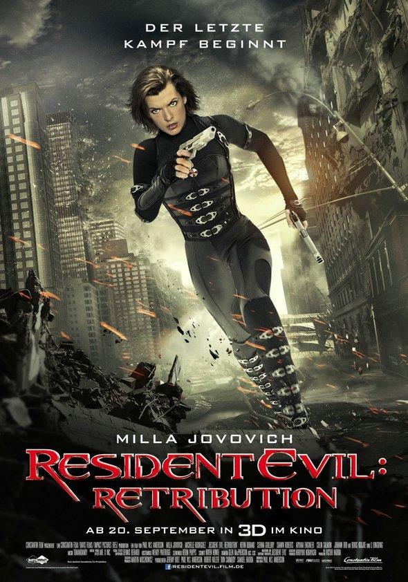 Resident Evil: Retribution Poster