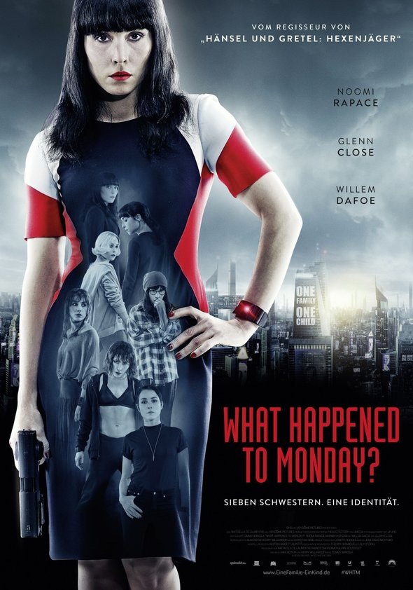 What Happened to Monday? Poster