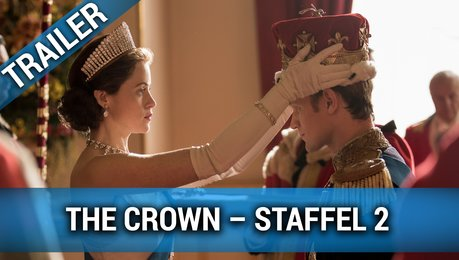 """The Crown"" Staffel 2 – Trailer Deutsch Poster"