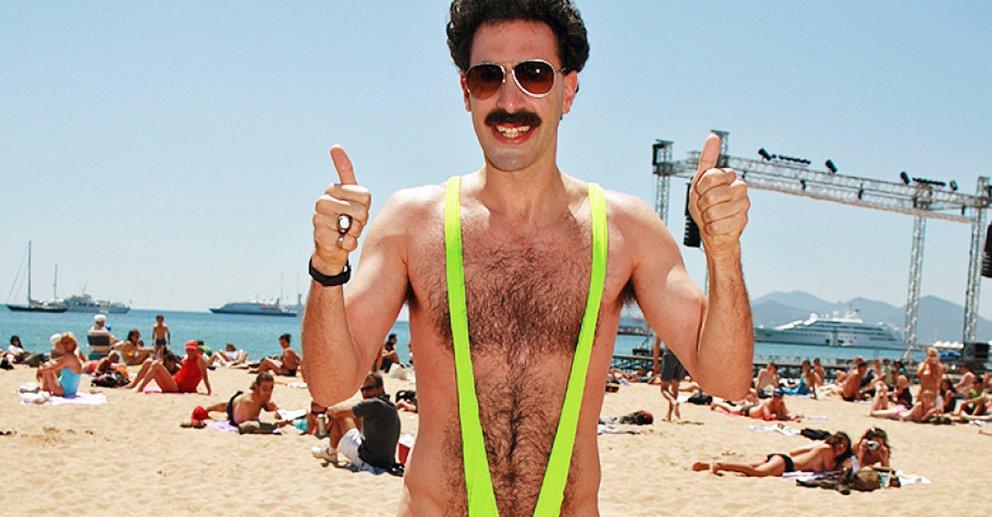 Touristen verkleiden sich in Kasachstan als Borat: Jetzt will ihnen Sasha Baron Cohen helfen.