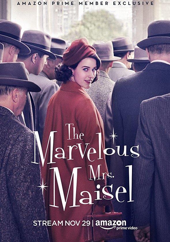 Bildergebnis für the marvelous mrs maisel plakat deutsch