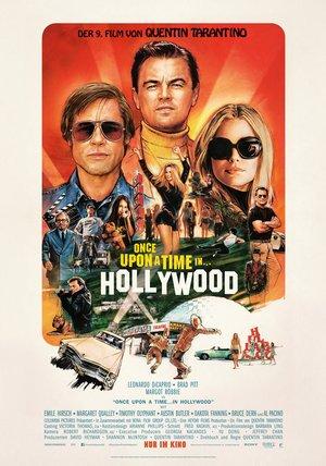 Plakat: ONCE UPON A TIME – In Hollywood