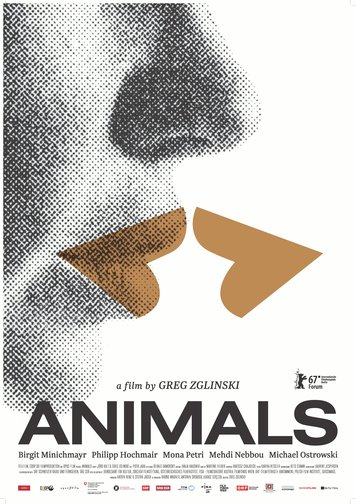 Animals - Stadt Land Tier Poster