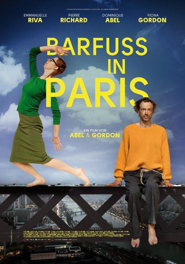 Barfuß in Paris Poster