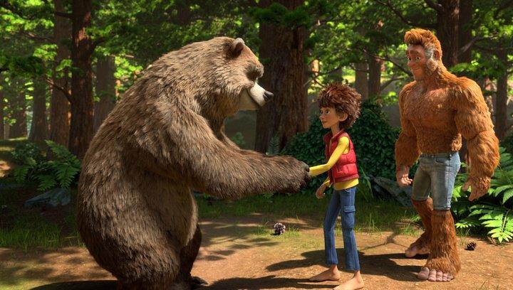 Bigfoot Junior - Trailer Deutsch Poster