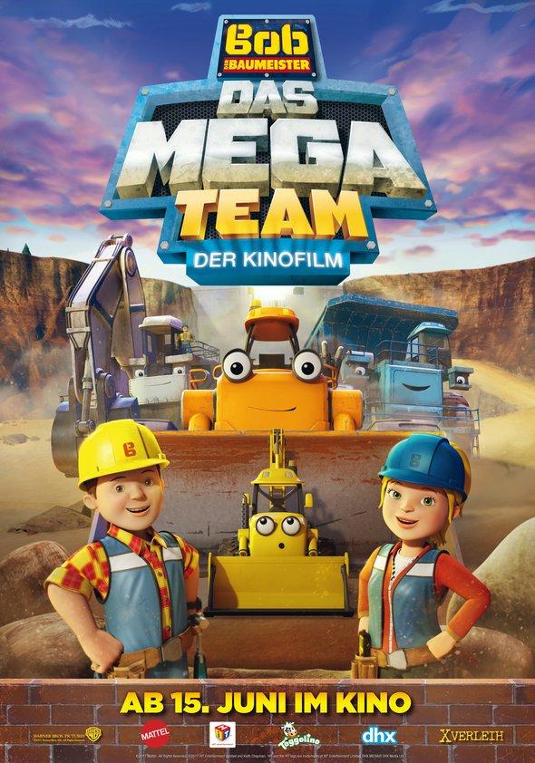 Bob, der Baumeister: Das Mega Team - Der Kinofilm Poster