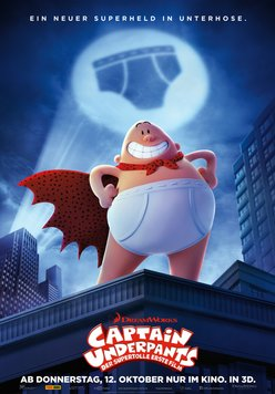 Captain Underpants - Der supertolle erste Film Poster