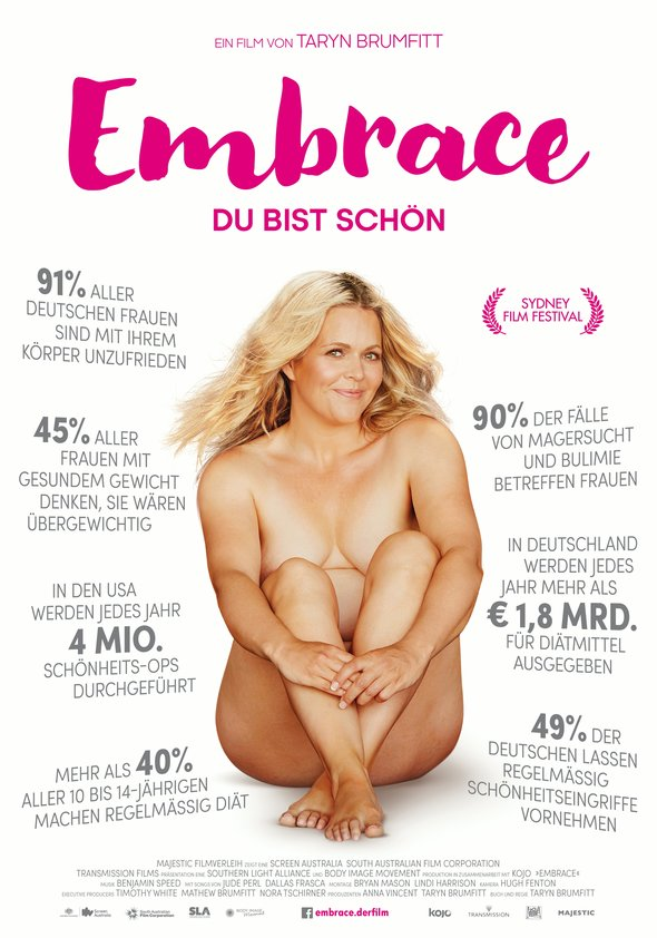 Embrace - Du bist schön Poster