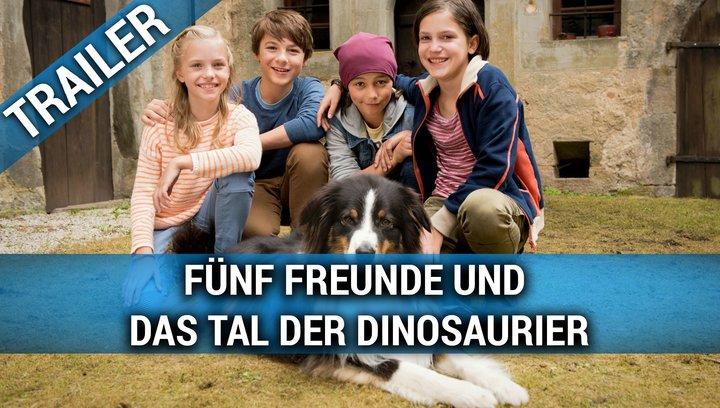 Fünf Freunde und das Tal der Dinosaurier - Teaser Poster