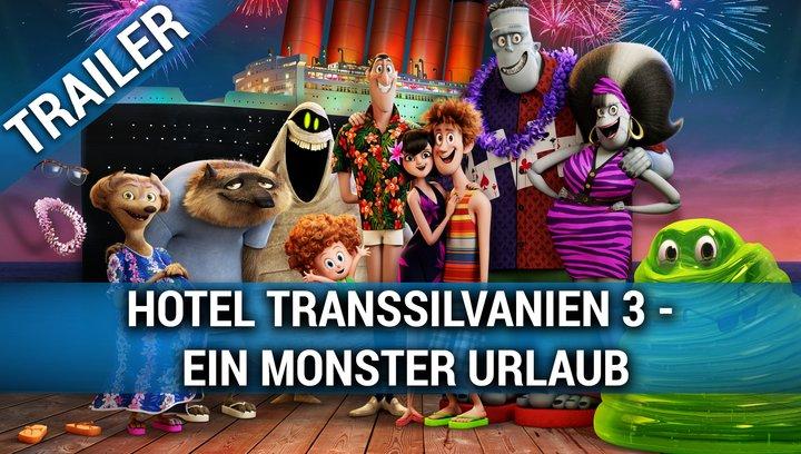 Hotel Transsilvanien 3 - Ein Monsterurlaub - Trailer 2 Poster