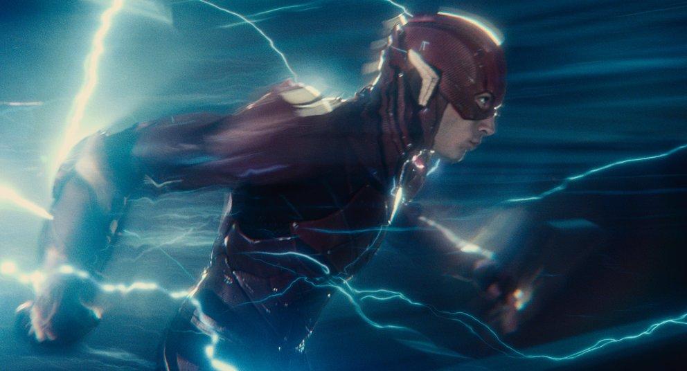 Schnell zum nächsten Scherz! Ezra Millers Flash – Justice League © Warner