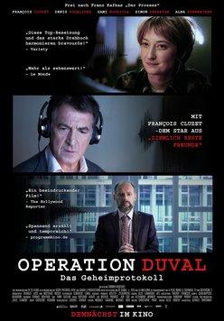 Operation Duval - Das Geheimprotokoll Poster