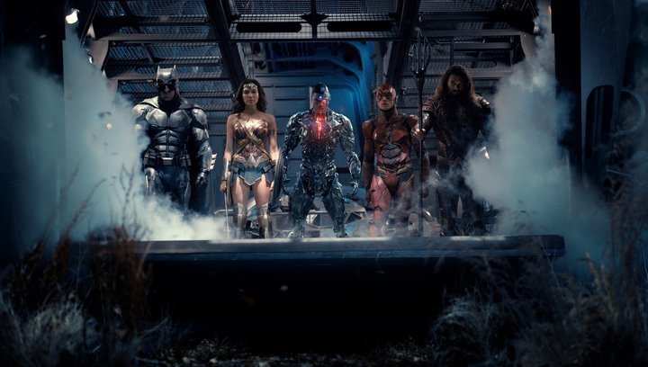 Justice League - Trailer SDCC Englisch Poster