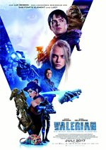 Valerian - Die Stadt der tausend Planeten Poster