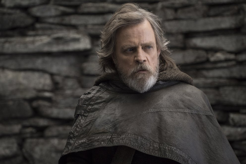 "Mark Hamill als Luke Skywalker in ""Star Wars 8: Die letzten Jedi"" © Disney"