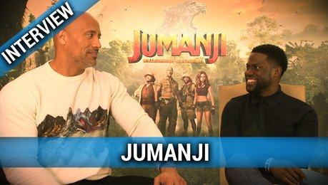 JUMANJI: Interview mit Dwayne Johnson und Kevin Hart Poster