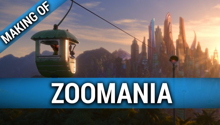Zoomania - Making Of (Mini) Poster